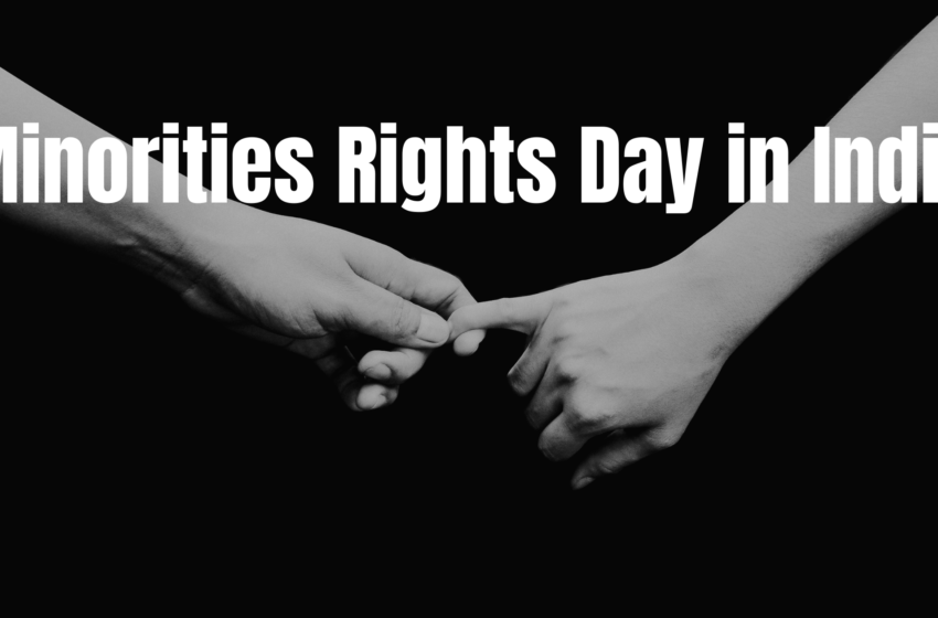 Minorities Rights Day in India